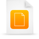 document file g11822 orange paper icon