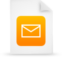 document file g14977 orange paper icon