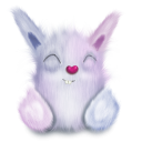 rabbit animal pink cute