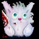 rabbit animal pink murder