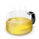 Glass Teapot (Yellow)