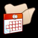 folder beige scheduled tasks