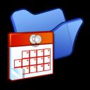 folder blue scheduled tasks