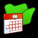 folder green scheduled tasks