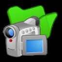 folder green videos