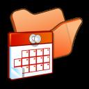 folder orange scheduled tasks