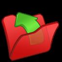 folder red parent