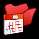 folder red scheduled tasks