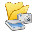 folder yellow scanners & cameras