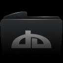 folder black deviantart