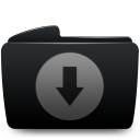 folder black download