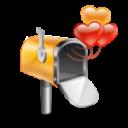 mail box hearts
