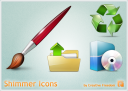 icon banner shimmer