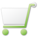 shopping cart green