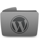folder wordpress