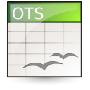 application vnd.oasis.opendocument.spreadsheet template