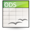 application vnd.oasis.opendocument.spreadsheet