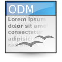 application vnd.oasis.opendocument.text master