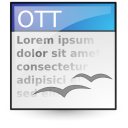 application vnd.oasis.opendocument.text template
