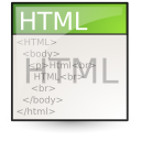 text html