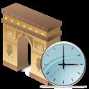 arcodeltriunfo clock