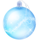 christmas glass ball