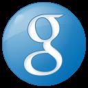 social google button blue