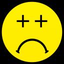 bad idea smiley smile emoticon emoticons emotions emotion human face head