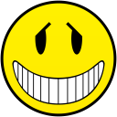 fakely innocent smiley smile emoticon emoticons emotions emotion human face head