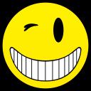 happy wink smiley smile emoticon emoticons emotions emotion human face head
