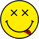 high smiley smile emoticon emoticons emotions emotion human face head