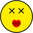 insanely in love smiley smile emoticon emoticons emotions emotion human face head