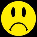 sad smiley smile emoticon emoticons emotions emotion human face head