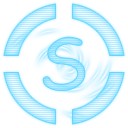 skype hologram social icons media social networks laser