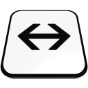 arrow linear left right  iconizer