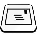 mail letter  iconizer