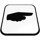 point right hand finger nail  iconizer