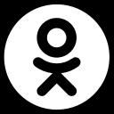 odnoklassniki new  logo social network social bookmarking odnoklassniki.ru simple iconizer