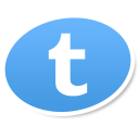 tumblr logo social bookmark icon iconizer