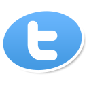 twitter logo social bookmark icon iconizer