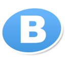 vkontakte logo social bookmark icon iconizer